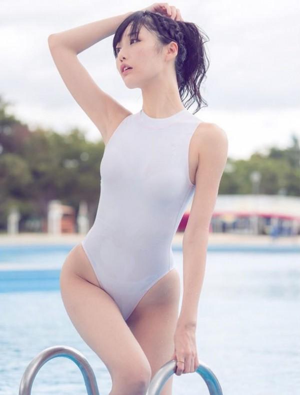競泳水着グラドルで4万フォロワー集める稲森美優、新作撮影中に乳首○起しっぱなし