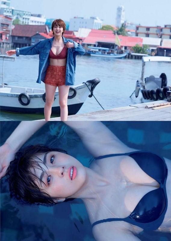 人気グラドル柳ゆり菜、映画「純平、考え直せ」濡れ場解禁で美乳首しゃぶられ勃起
