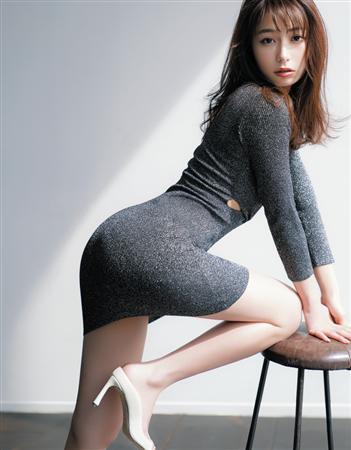 元TBS美人女子アナ宇垣美里、anan美尻特集でエロ尻見せつけるセックスアピール